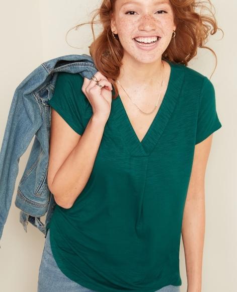 Luxe Short Sleeve Tunic